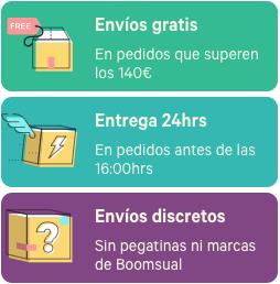 Envíos gratis, Entregas en 24hrs, Envíos discretos