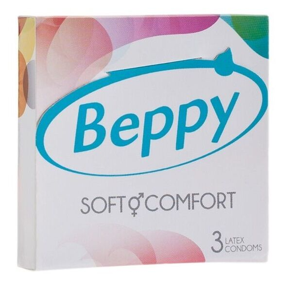 BEPPY SOFT AND COMFORT 3 PRESERVATIVOS