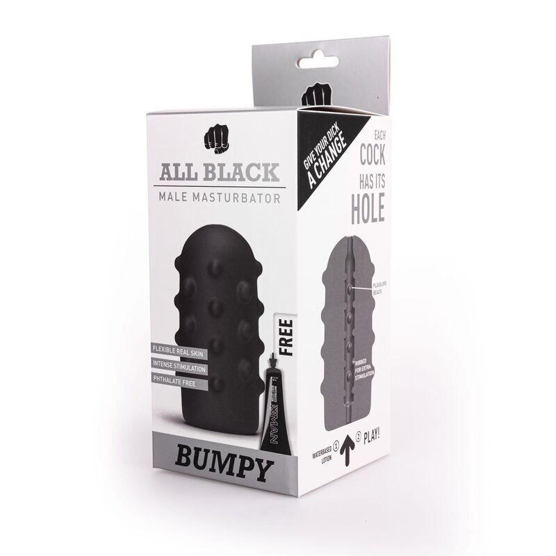 ALL BLACK MASTURBADOR BUMPY