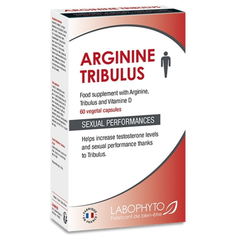LABOPHYTO ARGININE TRIBULUS COMPLEMENTO ALIMENTICIO 60 CAP