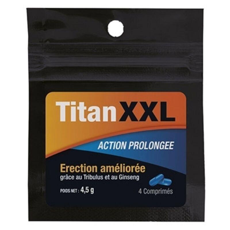 TITAN XXL PROLONGED ACTION 4 CAPSULAS