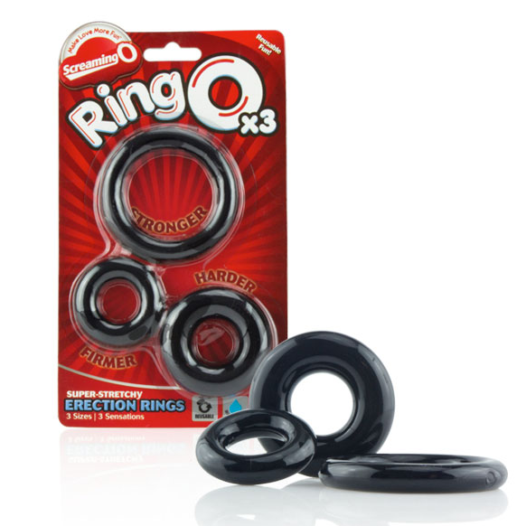 SCREAMING O RING O X 3