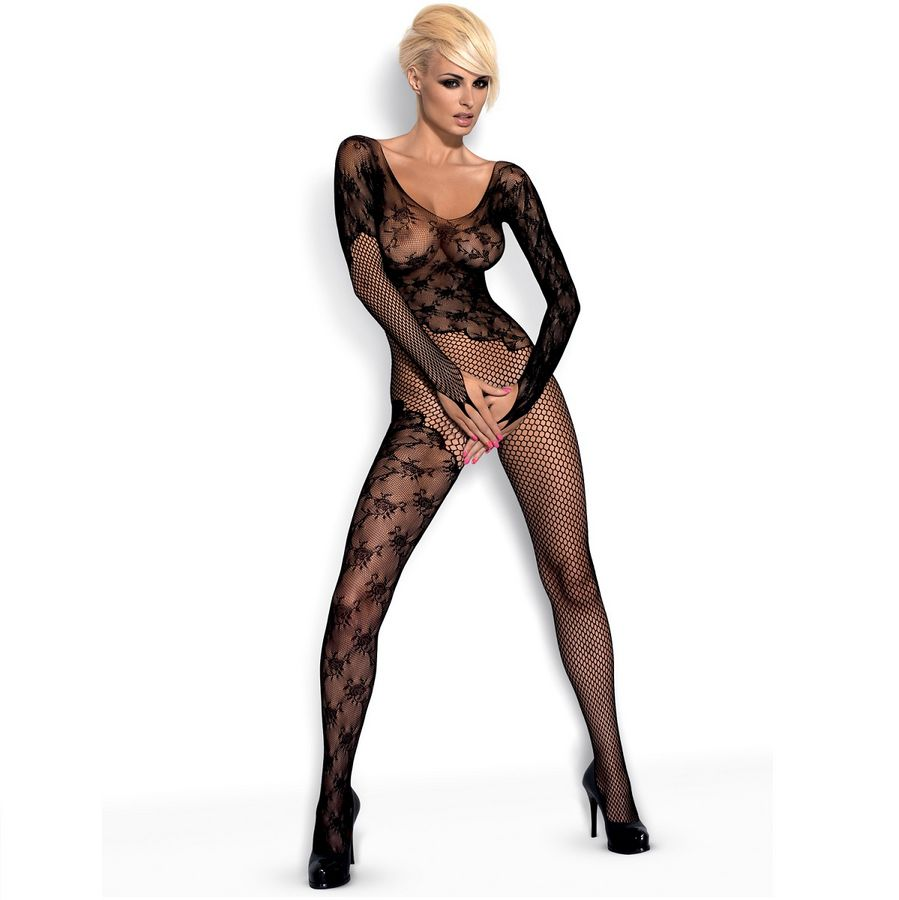 OBSESSIVE BODYSTOCKING BLACK  F210 S/M/L
