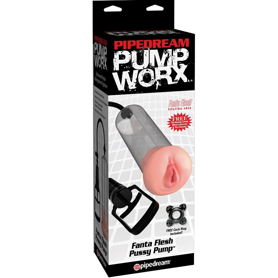 PUMP WORX BOMBA DE ERECCION CON VAGINA