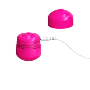 ML CREATION  CUTE BULLET POTENTE VIBRADOR RECARGABLE USB ROSA
