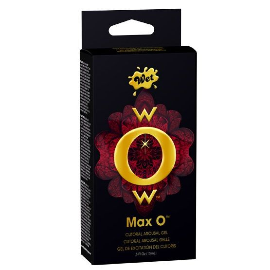 WET WOW MAX O GEL EXCITANTE CLITORIAL 15 ML