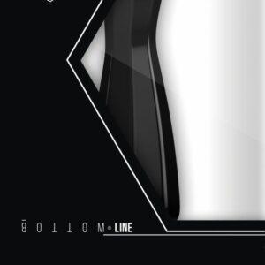 BOTTOMLINE M3-6 BUTTPLUG ANAL RUBBER NEGRO 15.5 X 4.5CM