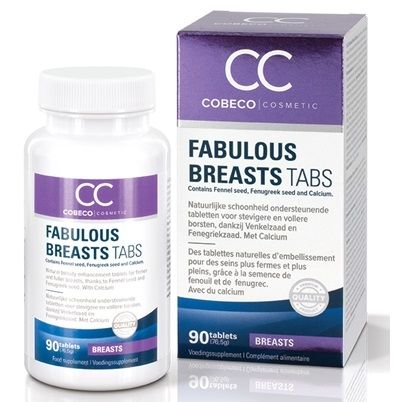 COBECO FABULOUS BREAD CAPSULAS AUMENTADOR SENOS 90 CAP
