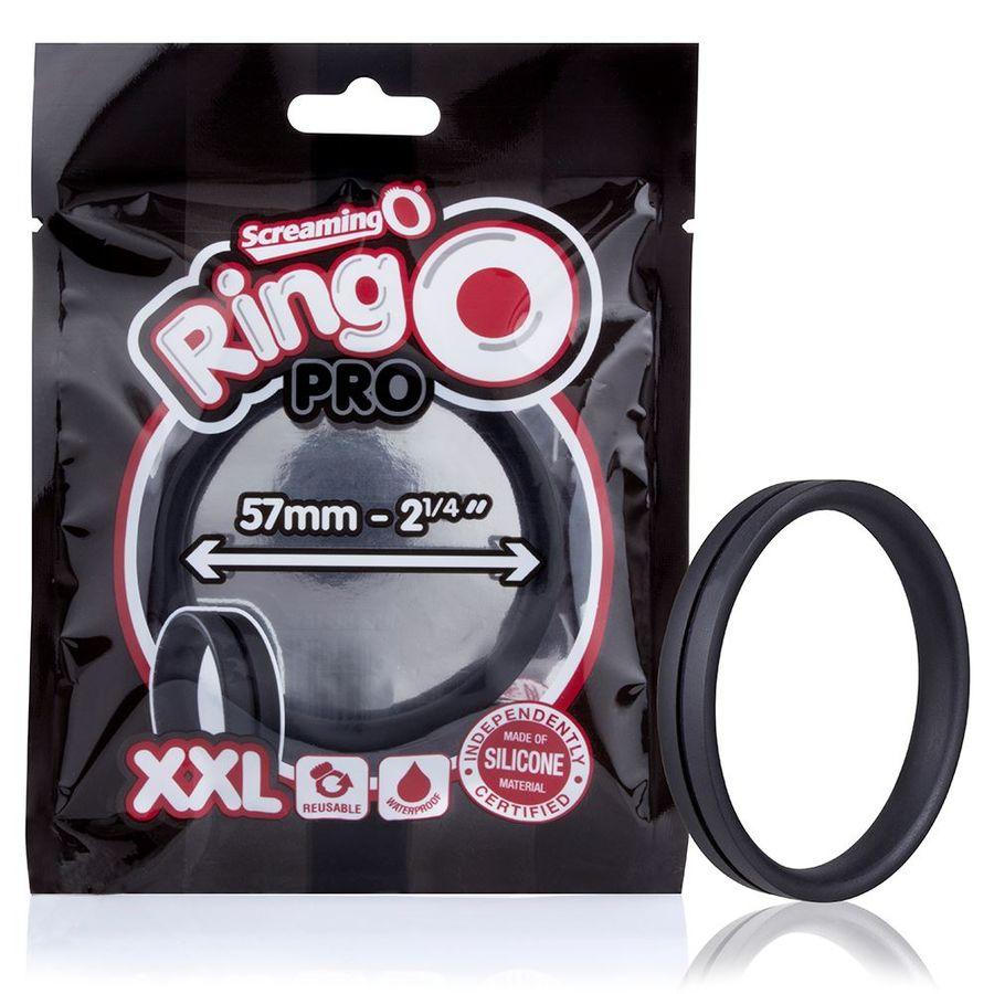 SCREAMING O  ANILLO POTENCIADOR RINGO PRO XL NEGRO 48MM