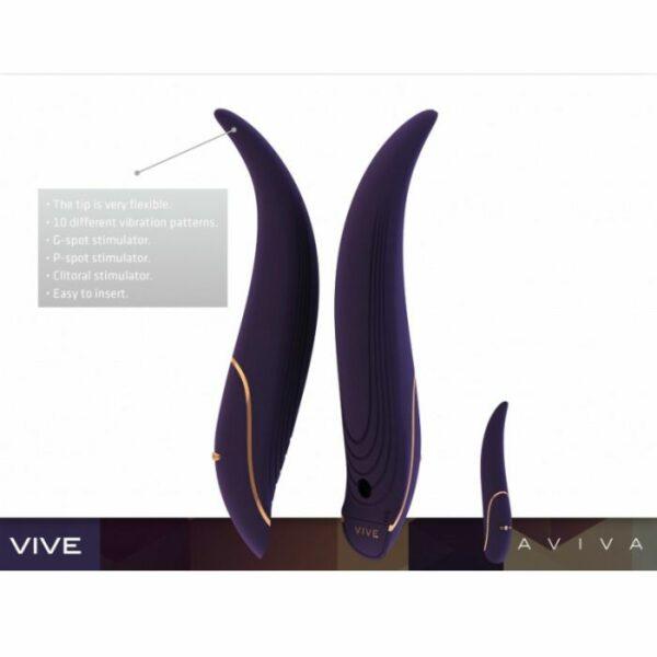 VIVE AVIVA VIBRADOR PURPLE