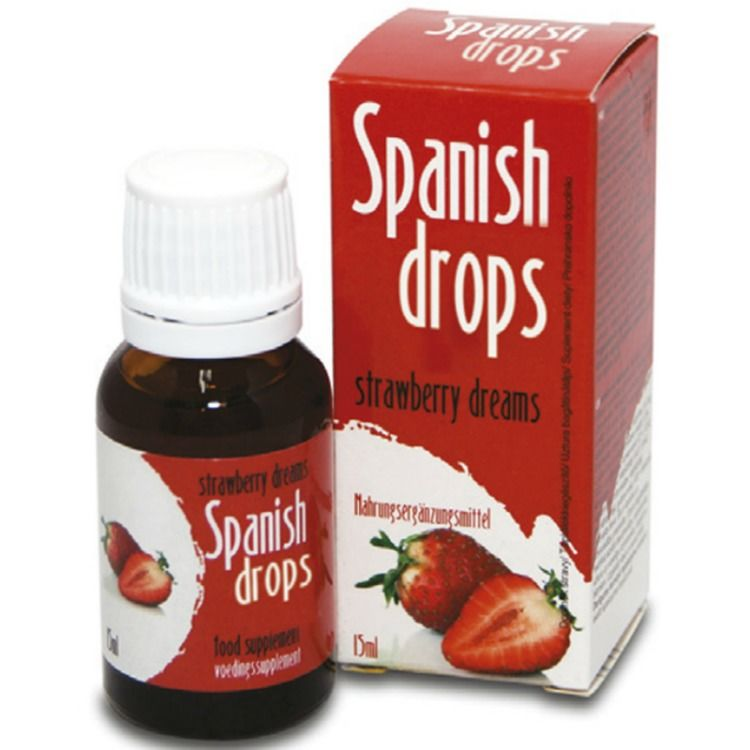 SPANISH FLY STRAWBERRY DREAMS GOTAS ESTIMULANTES