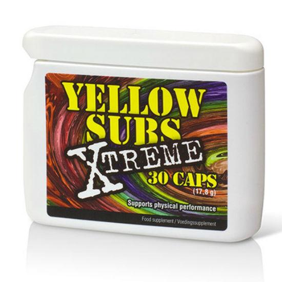 COBECO YELLOW SUBS XTREME ENERGIA CON CAFEINA 30 CAPS
