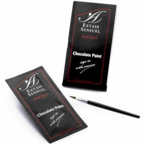 EXTASE SENSUEL PINTURA CORPORAL DE CHOCOLATE EFECTO ATRACCION 10ML