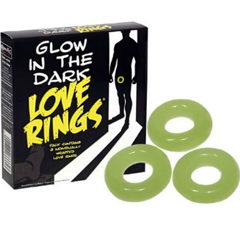 SPENCER AND FLEETWOOD – PACK 3 ANILLOS FLUORESCENTES