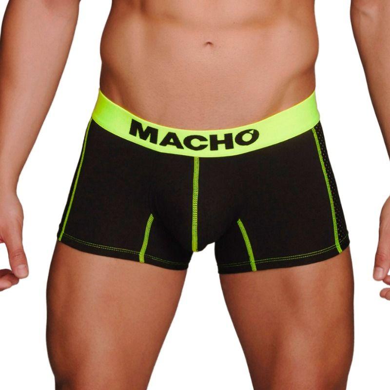 MACHO – MS085 BOXER DEPORTIVO NEGRO TALLA M