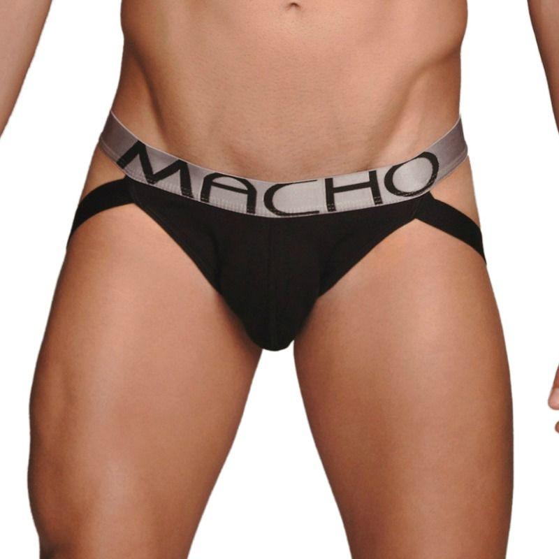 MACHO – MX083 JOCKSTRAP NEGRO TALLA L