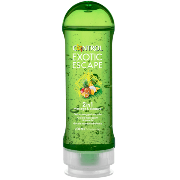 CONTROL 2-1 MASSAGE   PLEASURE EXOTIC 200ML