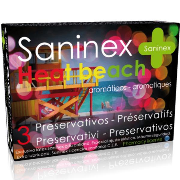 SANINEX HEAT BEACH PRESERVATIVOS 3 UDS