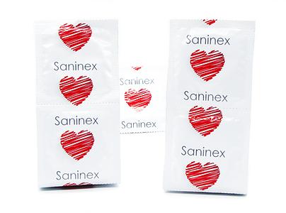 SANINEX  ANAL LOVER PRESERVATIVOS AROMATICOS 3 UDS