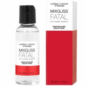 MIXGLISS FATAL LUBRICANTE SILICONA ROSAS 50 ML