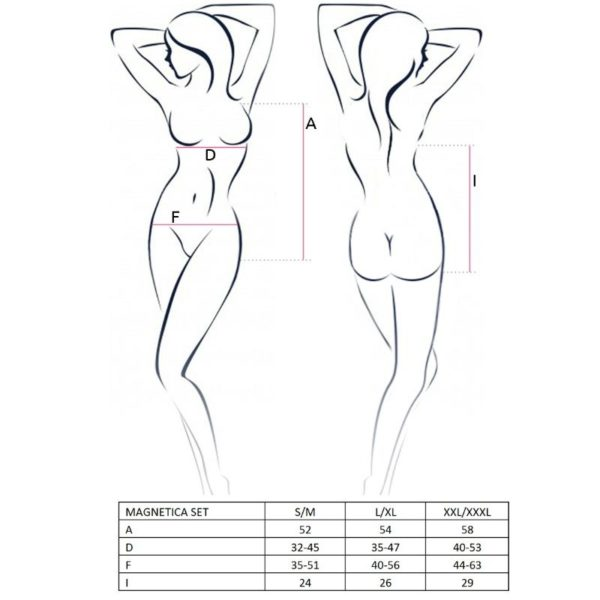 PASSION WOMAN MAGNETICA SET TALLA S/M