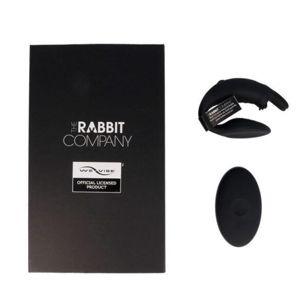 THE COUBLES RABBIT COMPANY NEGRO CONTROL REMOTO