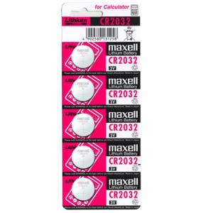 MAXELL PILA BOTON LITIO CR2032 3V BLISTER*5