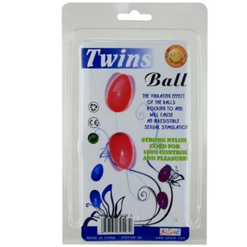 TWINS BALLS BOLAS ANALES LILA