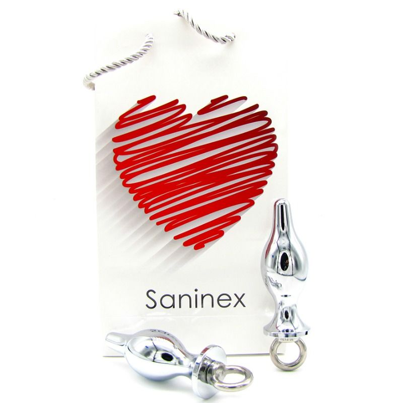 SANINEX PLUG METAL EXTREMO CON ANILLA