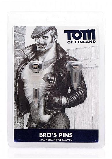 TOM OF FINLAND MAGNETIC PINZA PEZONES