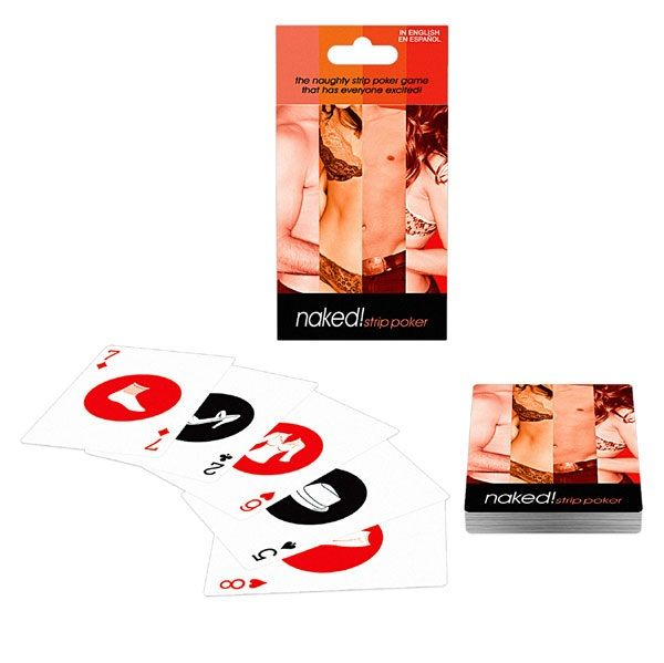 NAKED BARAJA STRIP POKER ES/EN
