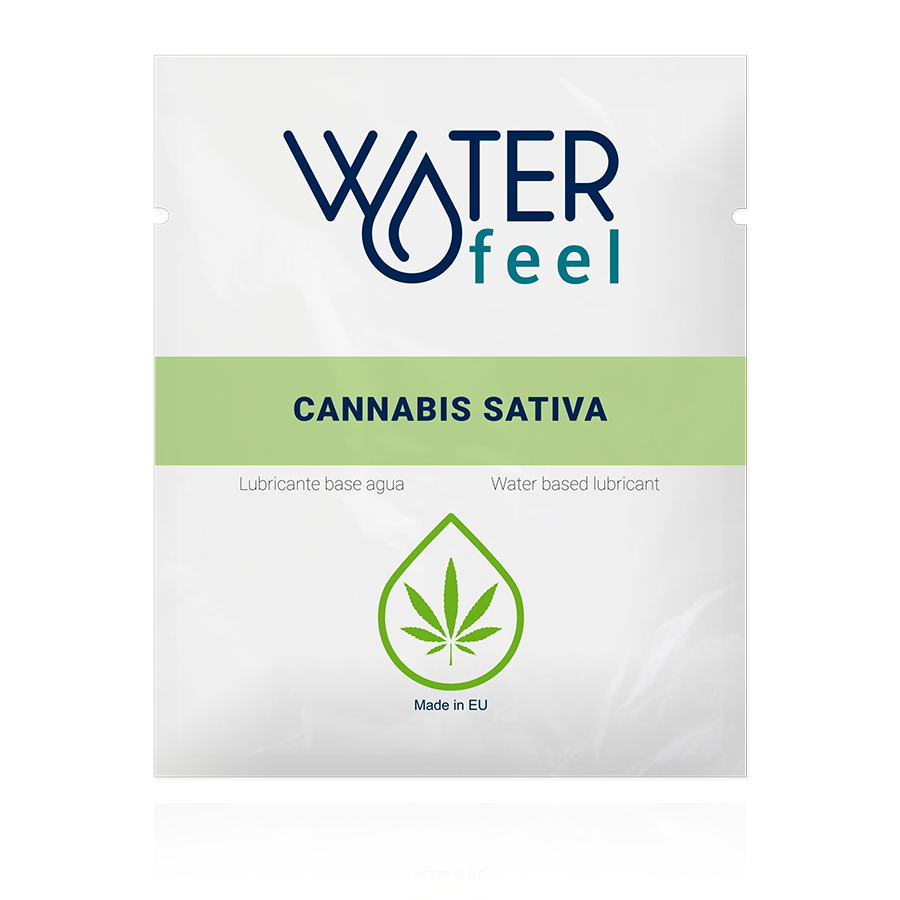 WATERFEEL LUBRICANTE CANNABIS 4ML EN IT NL FR DE