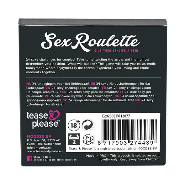 SEX ROULETTE LOVE  MARRIAGE (NL-DE-EN-FR-ES-IT-PL-RU-SE-NO)