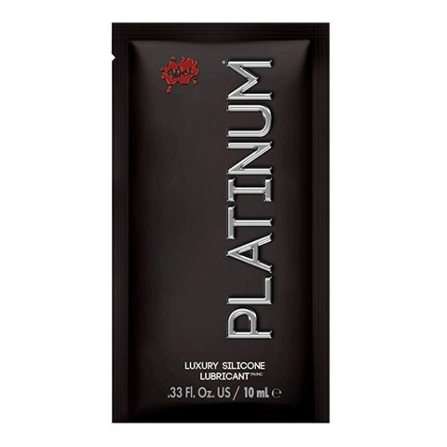 WET PLATINUM LUBRICANTE SILICONA LUXURY 10ML