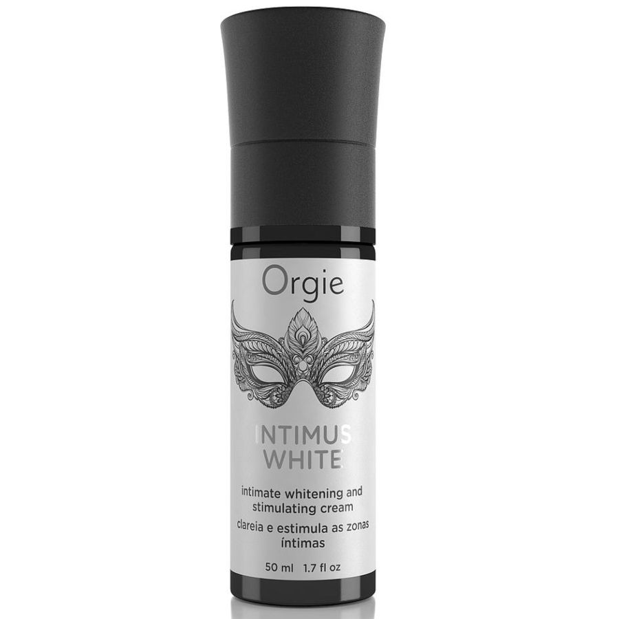ORGIE INTIMUS WHITE GEL BLANQUEADOR Y ESTIMULANTE ZONAS INTIMAS 50 ML