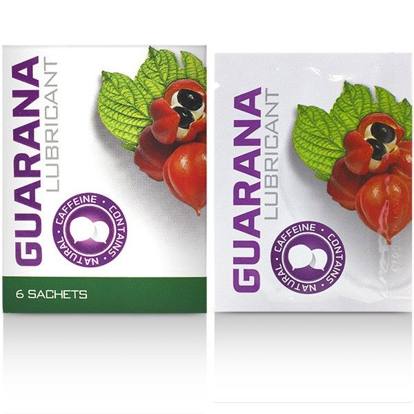 COBECO GUARANA LUBE SACHETS 6 X 4ML