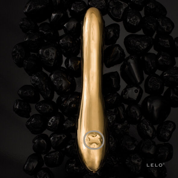 LELO INEZ VIBRADOR GOLD ORO 24 KILATES