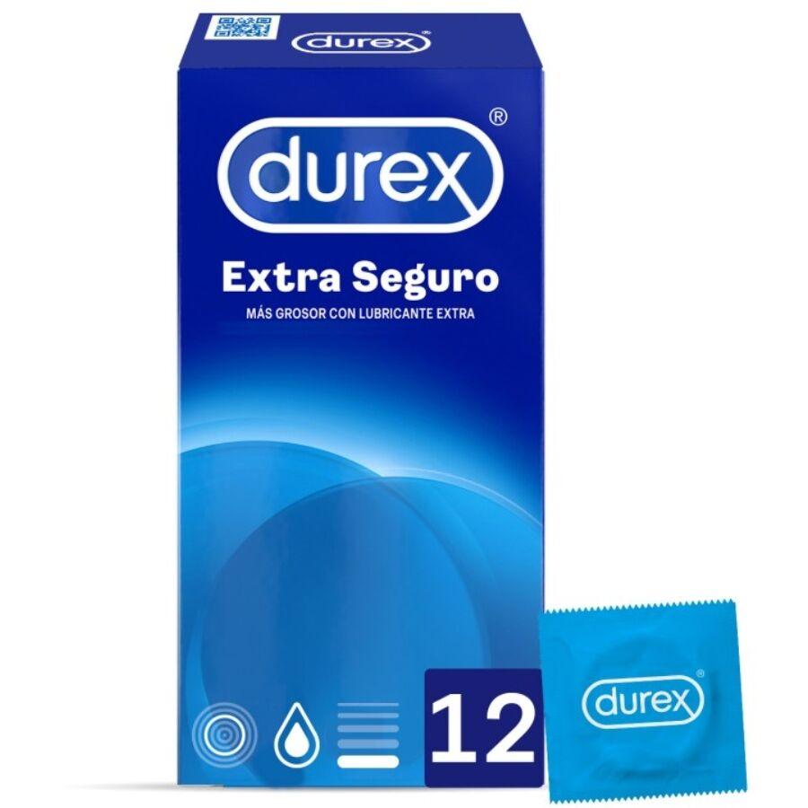 DUREX EXTRA SEGURO 12 UDS