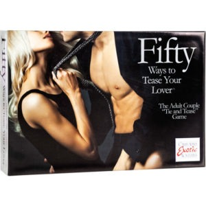 CALEX  FIFTY WAYS TO TEASE YOUR LOVE – KIT PARA PAREJAS