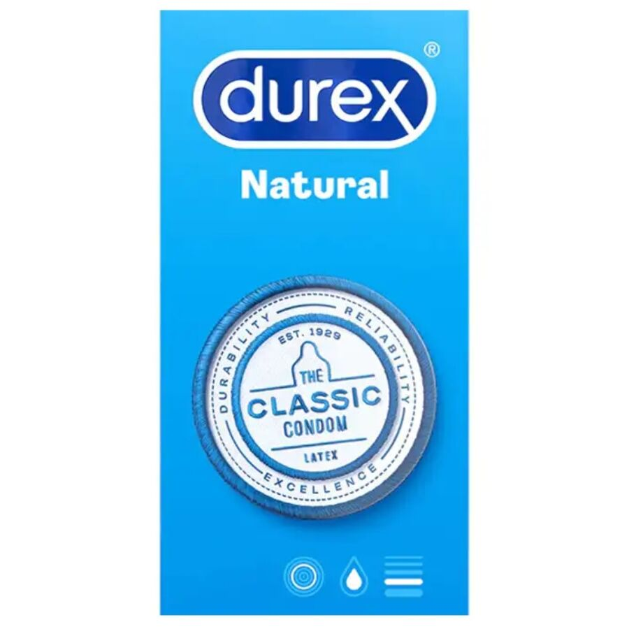 DUREX NATURAL CLASSIC 6 UNIDADES
