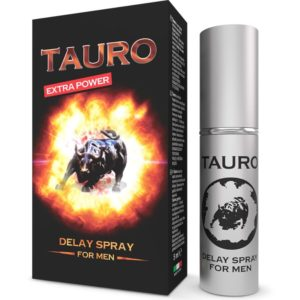 TAURO EXTRA SPRAY RETARDANTE PARA HOMBRES 5 ML