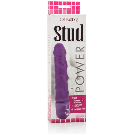 CALEX POWER STUD ROD VIBRADOR ROSA