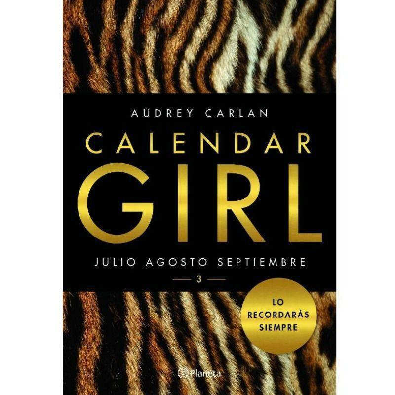 GRUPO PLANETA – CALENDAR GIRL 3 EDICION BOLSILLO