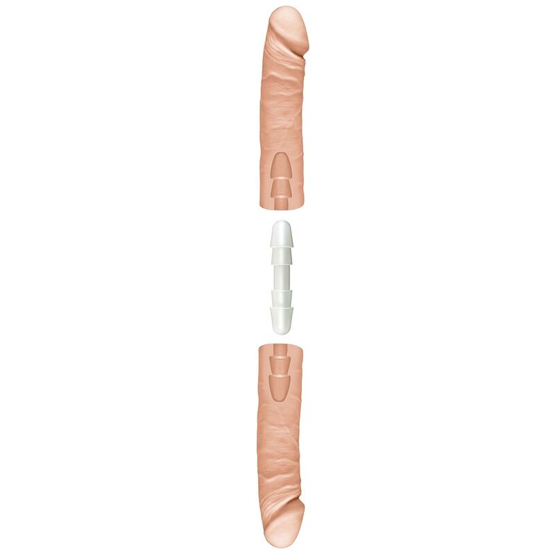 DOC JOHNSON THE DOUBLE D PENE DOBLE 41 CM NATURAL