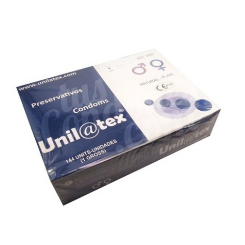 UNILATEX – PRESERVATIVOS  NATURALES 144 UDS