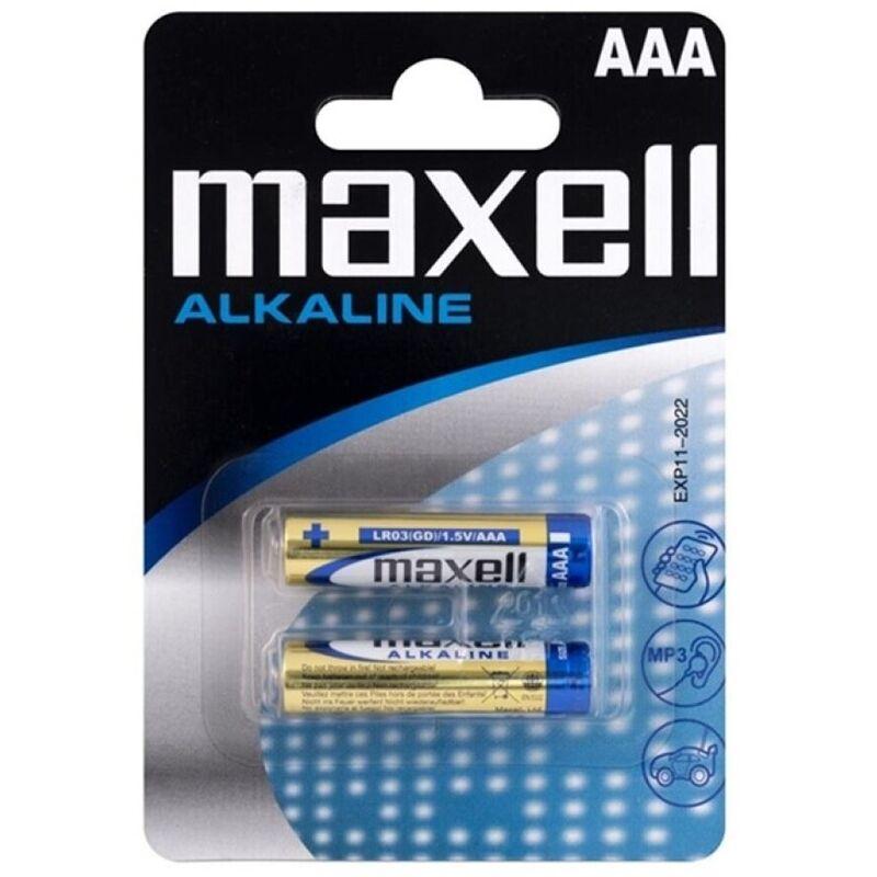 MAXELL PILA ALCALINA AAA LR03 BLISTER*2