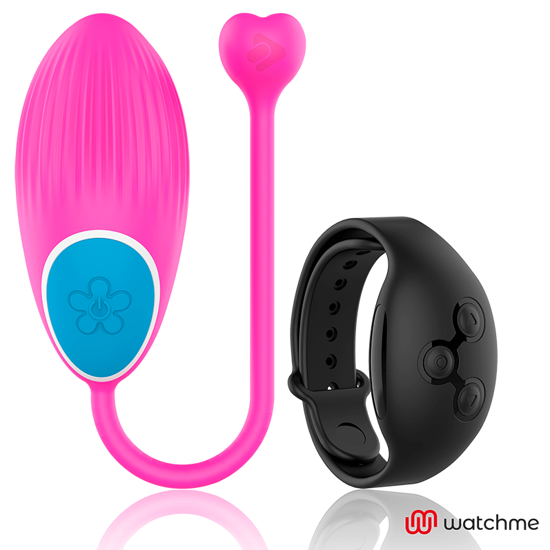 WEARWATCH HUEVO CONTROL REMOTO TECHNOLOGY WATCHME FUCSIA / AZABACHE