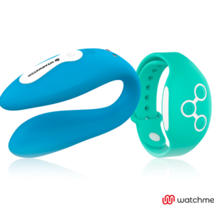 WEARWATCH VIBRADOR DUAL TECHNOLOGY WATCHME AÑIL /AGUA MARINA