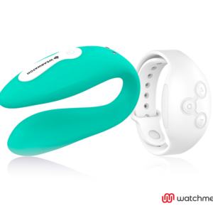 WEARWATCH VIBRADOR DUAL TECHNOLOGY WATCHME AGUA MARINA / NÍVEO