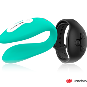 WEARWATCH VIBRADOR DUAL TECHNOLOGY WATCHME AGUAMARINA / AZABACHE